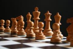 Parti di scacchi Fotografie Stock Libere da Diritti