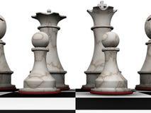 Parti di scacchi illustrazione di stock