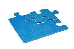 Parti di un puzzle 4 Immagine Stock