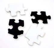 Parti di un puzzle Fotografia Stock