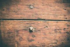 Parti di una porta di legno antica immagine stock