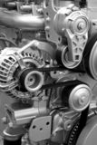 Parti e componenti di motore immagini stock