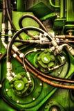 Parti elettriche del collegamento Fotografie Stock