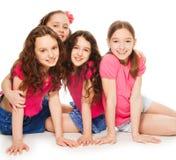 Parti för flickor endast Royaltyfria Bilder