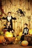 Parti för halloween Arkivfoto