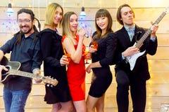 Parti för nytt år Royaltyfri Foto