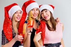 Parti för nytt år Arkivfoton