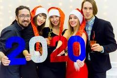 Parti för nytt år Royaltyfri Bild