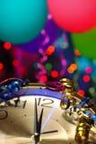 Parti för nytt år arkivbild
