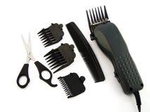 Parti governare dei capelli fotografie stock libere da diritti