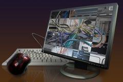 Parti interne dello schermo di computer Immagine Stock Libera da Diritti