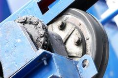 Parti rotative del meccanismo di sollevamento Fotografie Stock