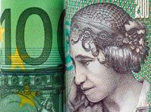 Parti superiori danesi. Valuta della Danimarca Fotografia Stock