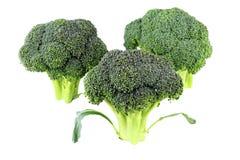 Parti superiori del broccolo Fotografia Stock Libera da Diritti