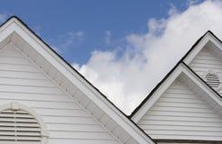 Parti superiori del tetto Fotografie Stock
