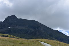Parti superiori della montagna Fotografie Stock