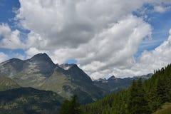 Parti superiori della montagna Fotografia Stock Libera da Diritti