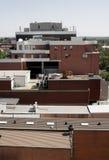 Parti superiori urbane del tetto Fotografia Stock