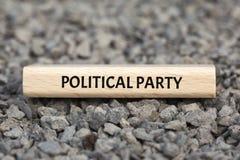 PARTIA POLITYCZNA - wizerunek z słowami kojarzącymi z tematu ekstremizmem, słowo, wizerunek, ilustracja Fotografia Royalty Free