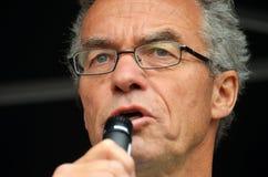 Partia Zielona polityk Rasmus Hansson obraz royalty free