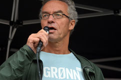 Partia Zielona polityk Rasmus Hansson Obrazy Stock
