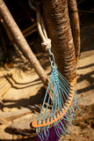 Partial Hammock Jungle Beach Royalty Free Stock Photo