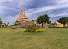 Partial overview of Gangaikunda Temple. Stock Photography