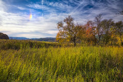 Partial Rainbow in Cade's Cove Royalty Free Stock Image