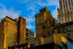 Partial skyline in Philadelphia Stock Photography