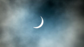 Partial Solar Eclipse Stock Photos