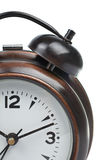 Partial view of alarm clock Royalty Free Stock Photos