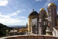 Pena Palace Royalty Free Stock Photo