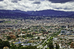 Partial view of City of Cuenca, Ecuador Royalty Free Stock Photography