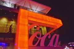 Partial view of Coca-Cola store in Lake Buena Vista Area. stock images