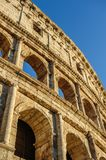Partial view of Coliseum ruins. Italy, Rome. Royalty Free Stock Photos