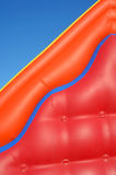 Partial view of colorful inflatable blow-up toy Royalty Free Stock Photo
