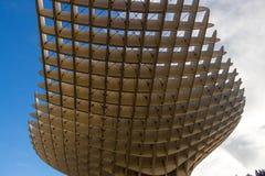 Partial view of the Metropol Parasol in Seville stock photos