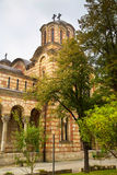 Partial view Orthodox church St. Marks in center Stock Photo