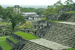 Partial view of Palenque Royalty Free Stock Photos