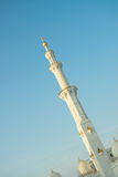 Partial view of Sheikh Zayed Mosque,UAE Stock Photo