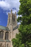 Partial view of St. Johns Cathedral. Royalty Free Stock Images