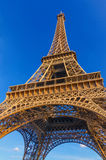 Partial view Tour Eiffel Royalty Free Stock Photography