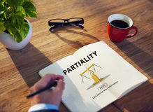 Partiality Prejudice Unfairness Help Victims Bias Concept Stock Photography