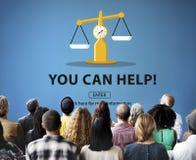 Partiality Prejudice Unfairness Help Victims Bias Concept Stock Photos