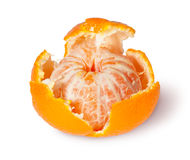 Partially Purified Tangerine Stock Photography