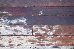 Frontal Wooden Deck Stock Images