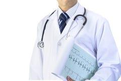 Partialy a cultivé le docteur masculin asiatique image libre de droits