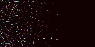Partibakgrund strilar kornigt söta konfettiar royaltyfri illustrationer