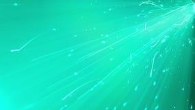 Particella di volo con le tracce luminose in Cyberspace Immagine Stock Libera da Diritti