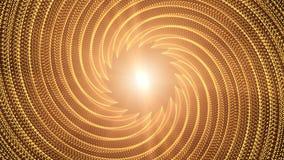 Particelle dell'oro capaci di avvolgere senza cuciture illustrazione vettoriale
